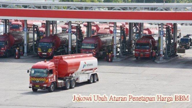 Jokowi Ubah Aturan Penetapan Harga BBM