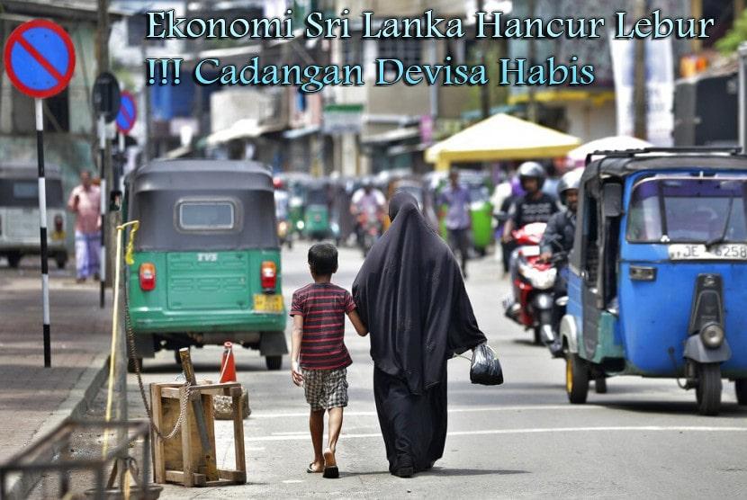 Ekonomi Sri Lanka Hancur Lebur