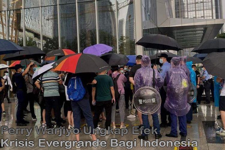 Perry Warjiyo Ungkap Efek Krisis Evergrande Bagi Indonesia